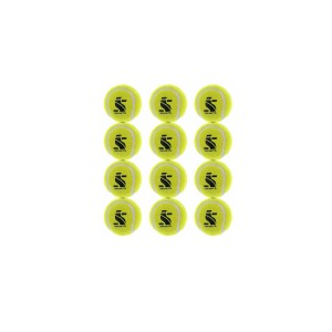 (IS ENDURA HEAVY CRICKET TENNIS BALL (PACK OF 12)