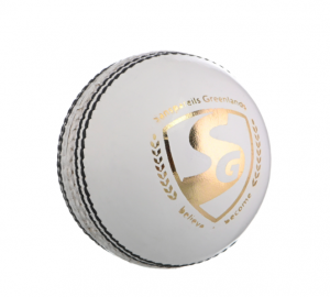 SG SHIELD 20 WHT LEATHER BALL