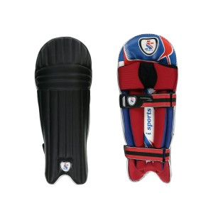 IS MILLENIUM BATTING PADS BLK UNIVERSAL POSITION (2 STRAP)