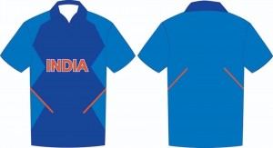 Indian 2019 world cup replica jersey