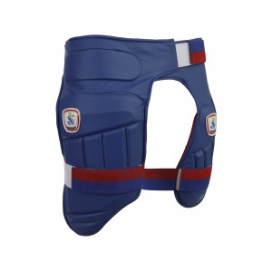 Isports player edition double thigh guard Royal blue