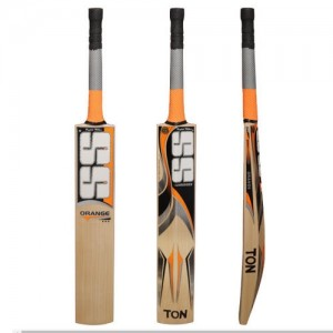 SS Orange English Willow Bat